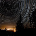 Star Trails over Oregon