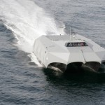 Stealth Stiletto boat