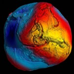 The Geoid map
