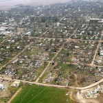 Tornado destruction in Mapleton, Iowa