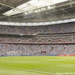 360-degree, 20 gigapixel panorama of Wembley Stadium
