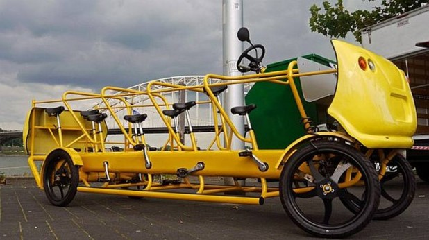 Bicycle bus