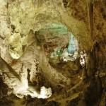 Carlsbad Caverns with LEDs
