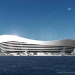 Floating Stadium for World Cup 2022