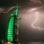 LIghtning over Burj Al Arab