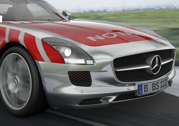 Wordlesstech mercedes benz sls amg emergency medical concept for Mercedes benz emergency