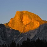 Sunset Half Dome Lodge