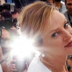 Uma Thurman in Cannes Film Festival