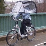 Veltop bike's portable roof