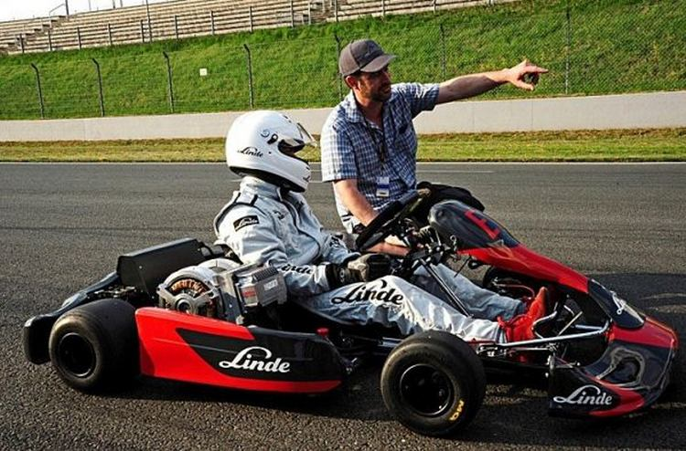 Fastest Acceleration by Linde Electric Kart