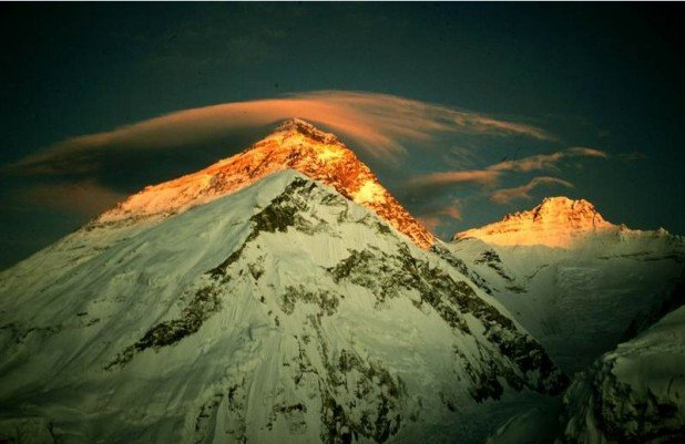 Everest's peak