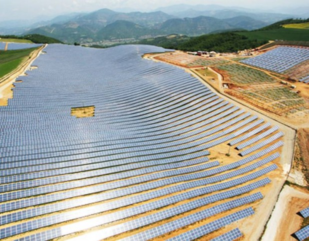 Solar project in France