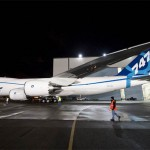 Boeing 747-8 Freighter, first biofuel-powered transatla...