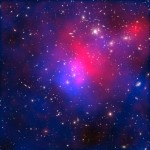 Clues of Dark Matter in Galactic smash-up