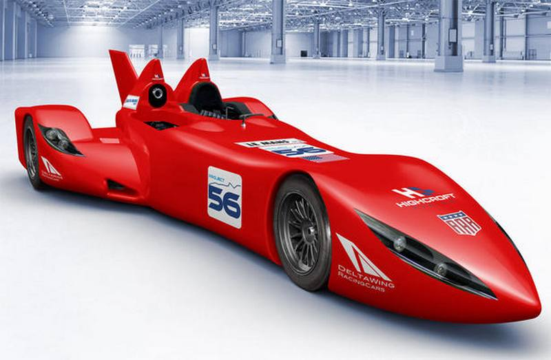 Exceptional DeltaWing Race Car  Project 56