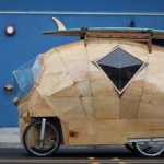 Golden Gate electric camper pod