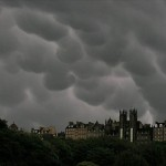 Mammatus Clouds above Edinburgh
