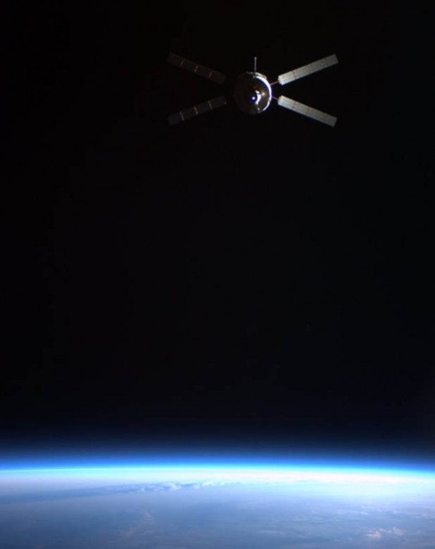 ATV-2 left the ISS