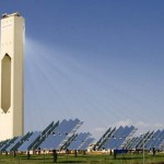 Spain's world largest solar power plant