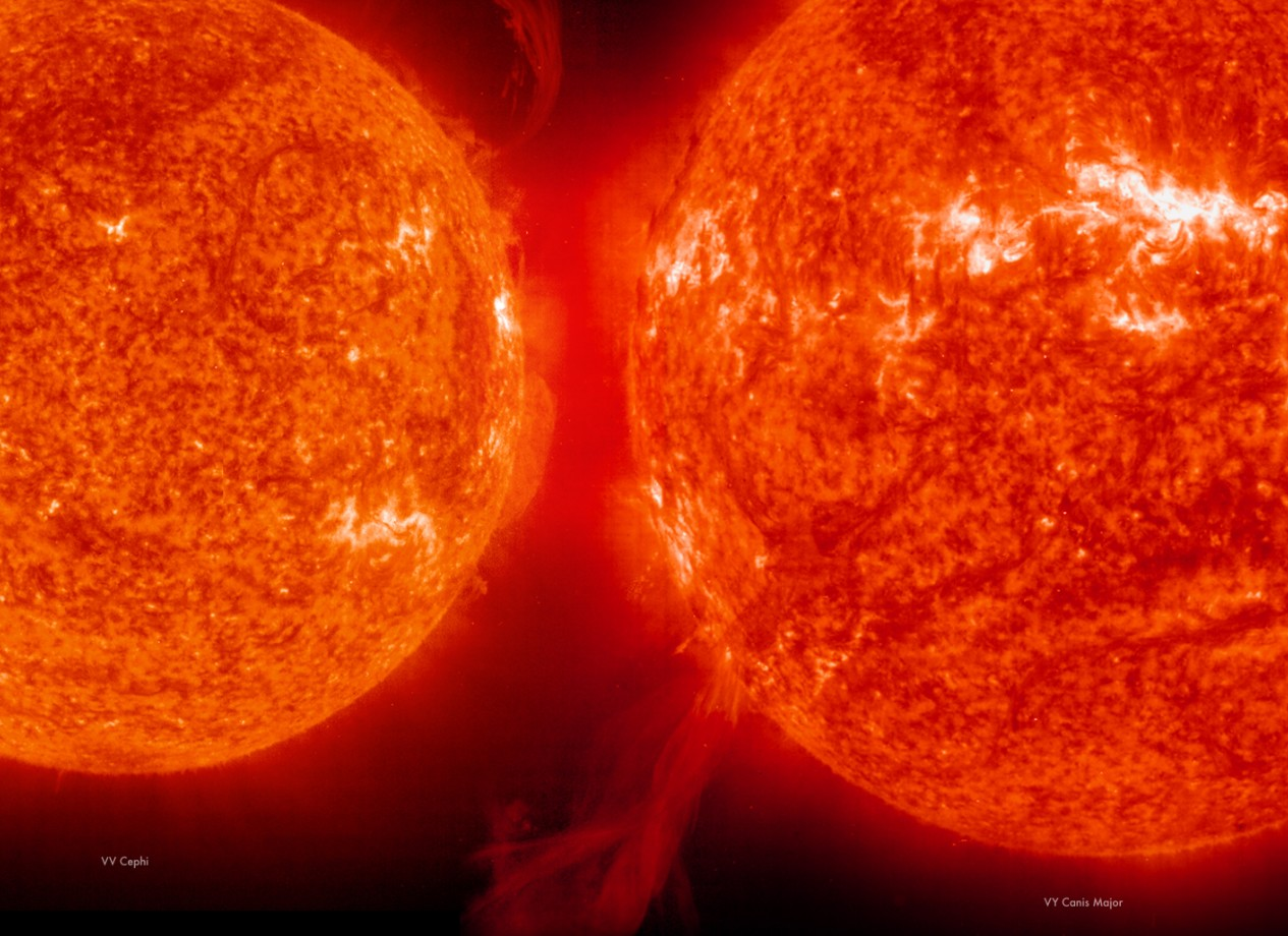 red giant star compared to sun - photo #9