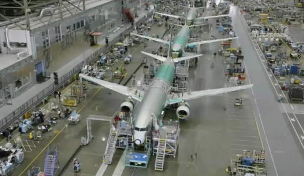 making of Boeing 737