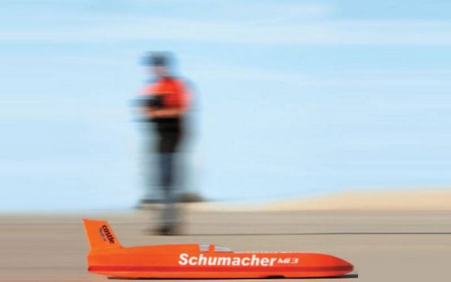 World s Fastest remote-controlled car