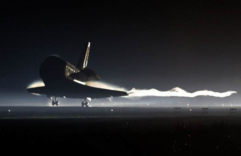 space shuttle landing july 4 1982 - photo #25
