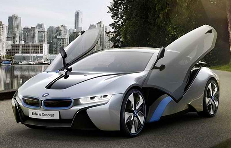 wordlessTech  BMW unveils i3 and i8 Electric Vehicles
