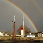 Double Rainbow above Caen