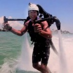 Jetlev R200 water jet pack (video)