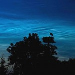 Noctilucent or Night Shining clouds