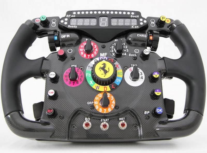 replica ferrari f1 steering wheel wordlesstech. Black Bedroom Furniture Sets. Home Design Ideas