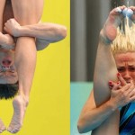 Springboard diving and synchronised swimming in Shangha...