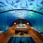 Underwater Bedroom in Maldives