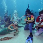 Underwater concert in Florida (video)