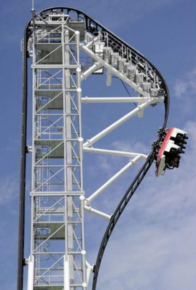Steepest Roller Coaster