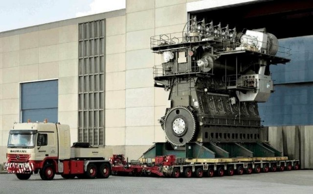 Most powerful Diesel Engine