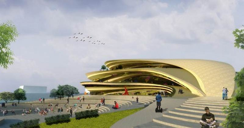 Artist s center and performing arts theater in philippines for National centre for the performing arts architecture