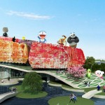 Comic and Animation Museum by EMBT