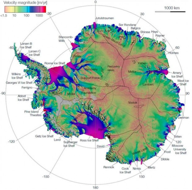 Antarctic Ice Flow