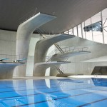 London Aquatics Centre's interior photographs