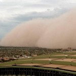 New huge Dust Storm hit Phoenix