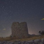 Starry night Lefkada island
