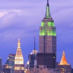 Empire State Building is now Green