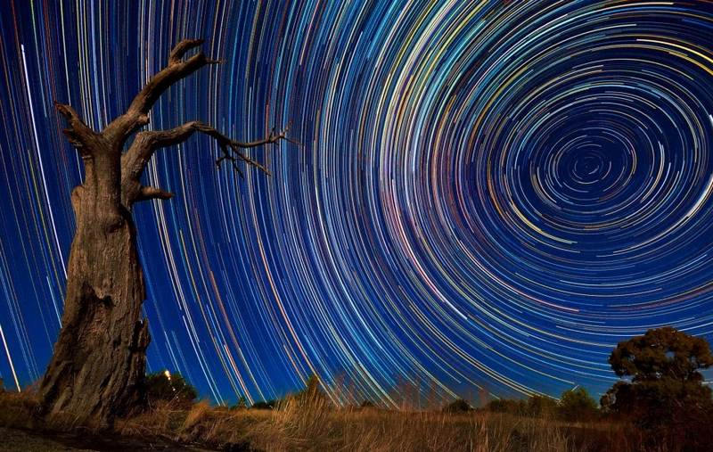 how to make a star trail