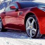 Ferrari debuts snow driving school
