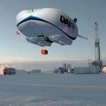 Futuristic airships for the North Pole