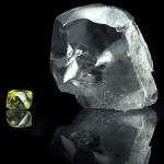 Huge white diamond recovered