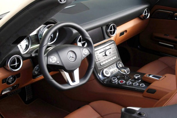 Most Beautiful And Expensive Car Interiors Mercedes Sls Amg Roadster X