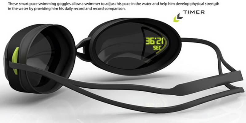 my pace swimming goggle wordlesstech